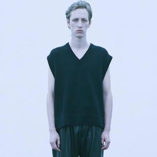 サンシー(SUNSEA)のstein Back Double knit vest(ベスト)