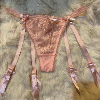 Victoria's Secret - 未使用品 ガーター付きパンティ