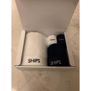 シップス(SHIPS)のヌーピー様 SHIPS 今治タオル DEAN&DELUCA トートバッグセット(タオル/バス用品)