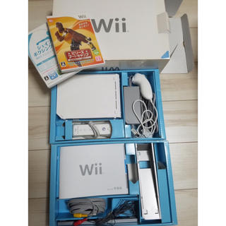 Wii - Nintendo Wii本体+ソフトセット