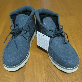 新品 ワークブーツ グレー 26㎝(ブーツ)