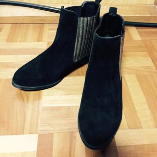 ジーナシス(JEANASIS)のサイドゴアブーツ(ブーツ)