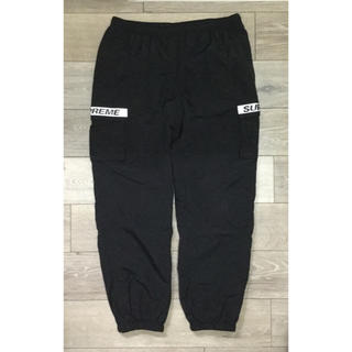 Supreme - Supreme Reflective Taping Cargo Pant 黒 L