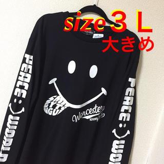 大きいサイズメンズ*新品 タグ付き   Smile ロンT