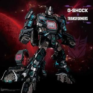 CASIO - 9個セット G-SHOCK×TRANSFORMERS トランスフォーマー