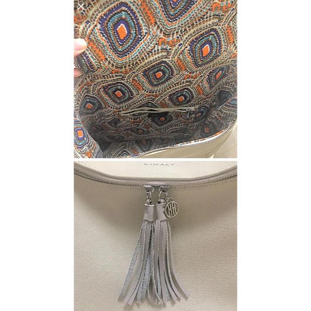KIRALY(キラリー)のKIPALY リュックサック オフホワイト タッセル レディースのバッグ(リュック/バックパック)の商品写真