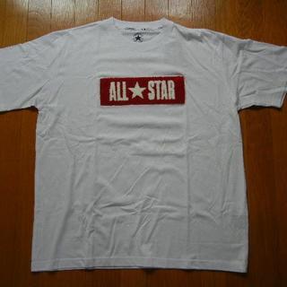 コンバース(CONVERSE)の3L CONVERSE コンバース 丸首半袖Tシャツ 白(Tシャツ/カットソー(半袖/袖なし))