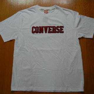 コンバース(CONVERSE)の2L CONVERSE コンバース 丸首半袖Tシャツ 白(Tシャツ/カットソー(半袖/袖なし))