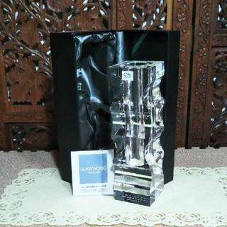 ナルミ(NARUMI)の【未使用】GLASS WORKS NARUMI ナルミ 花瓶 インテリア(花瓶)