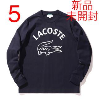 LACOSTE - LACOSTE BEAMS別注 ビッグワニ ロングスリーブTシャツ