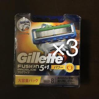 ピーアンドジー(P&G)のジレットフュージョン5+1 プログライドパワー 8個入り(日用品/生活雑貨)