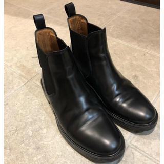 コムデギャルソン(COMME des GARCONS)の定価68000円 A.P.C. サイドゴアブーツ 39(ブーツ)