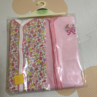 motherways - マザウェイズ 69㎝ 小花 長袖 ロンパース 女児