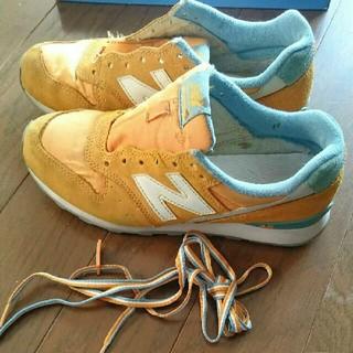 ニューバランス(New Balance)のニューバランス996オレンジ23.5㎝(スニーカー)