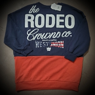 RODEO CROWNS WIDE BOWL - RODEO CROWNS ロデオ 109 阿倍野 限定 スウェットワンピ