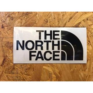 ザノースフェイス(THE NORTH FACE)のノースフェイス カッティングステッカー 黒(その他)