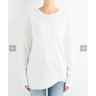 ドゥーズィエムクラス(DEUXIEME CLASSE)の新品未使用 Layering Tシャツ ホワイト ドゥーズィエムクラス(Tシャツ(長袖/七分))