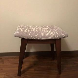 marimekko - マリメッコ  スツール 椅子 北欧 ヴィンテージ  ウォールナッツ ナチュラル