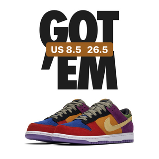 ナイキ(NIKE)のNike dunk low SP VIOTECH 26.5(スニーカー)