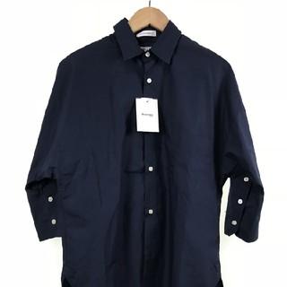 美品 マディソンブルー ネイビー シャツ 1