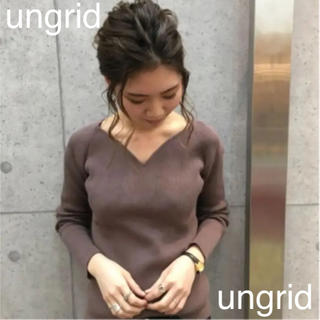 Ungrid - ungrid リブニット