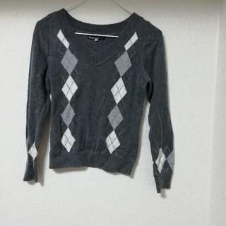 クリアインプレッション(CLEAR IMPRESSION)のクリアインプレッション グレー セーター(ニット/セーター)