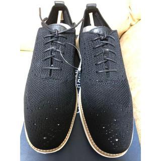 コールハーン(Cole Haan)の新品 未使用 コールハーン ドレス ビジネスシューズ 黒 27.5cm(ドレス/ビジネス)