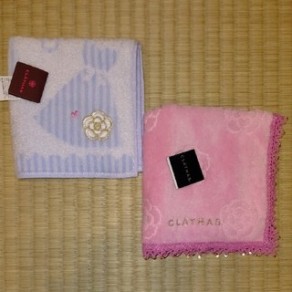 CLATHAS - 新品☆クレイサス☆タオルハンカチ