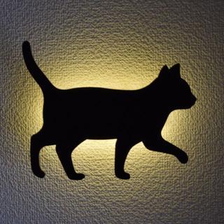 東洋ケース LED照明 壁掛け 照明 キャットウォールライト(てくてく)