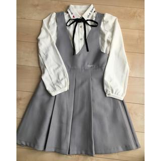 【美品】卒業式 卒服レピピ 女の子160ブランドフォーマル