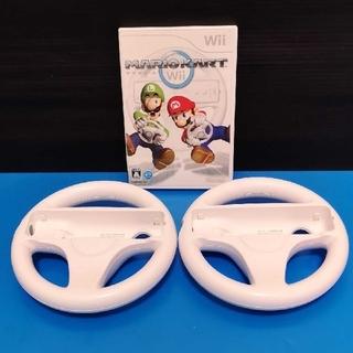 Wii - マリオカートWiiハンドルセット