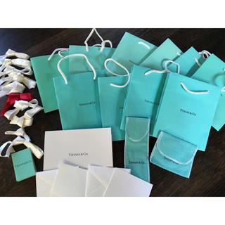 Tiffany & Co. - ティファニー 紙袋 保存袋 リボン メッセージカード 他
