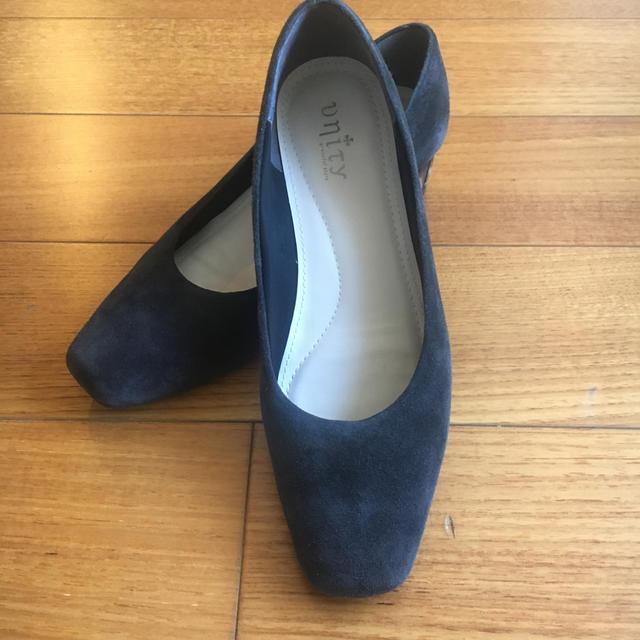 スエードのシューズ レディースの靴/シューズ(ハイヒール/パンプス)の商品写真