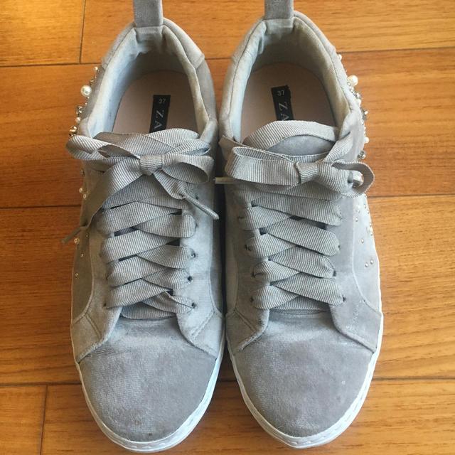 ZARA(ザラ)のZARAのスニーカー レディースの靴/シューズ(スニーカー)の商品写真