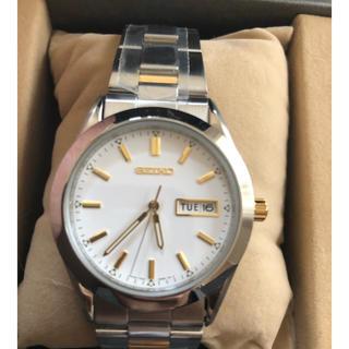 セイコー(SEIKO)の新品  SEIKO 記念時計(金属ベルト)