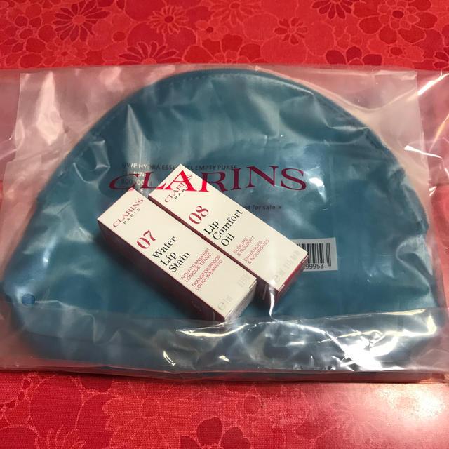 CLARINS(クラランス)のCLARINS 深みリップキット コスメ/美容のベースメイク/化粧品(リップグロス)の商品写真