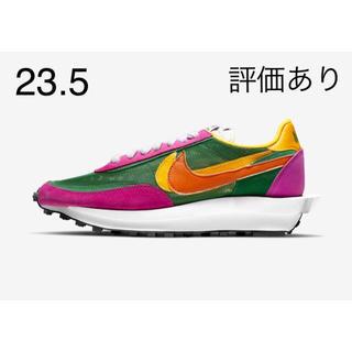 """ナイキ(NIKE)のSacai × Nike LDWaffle """"Pine Green"""" (スニーカー)"""
