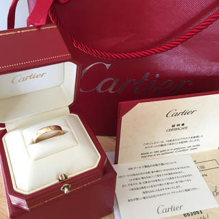 Cartier - カルティエ Cartier ハッピーバースデー リング K18PG