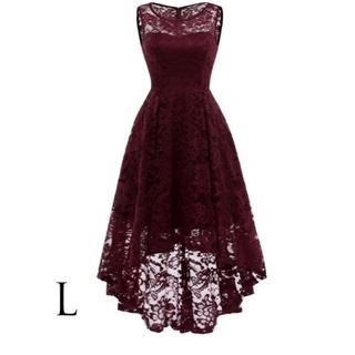 パーティードレス ドレス レディース 結婚式 ロング おしゃれ かわいい L(ロングドレス)