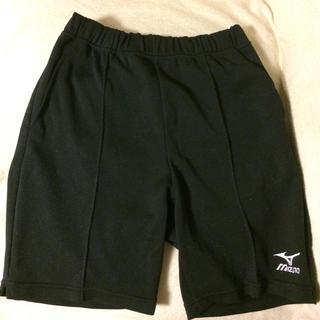 ミズノ(MIZUNO)のランバード 黒色 ハーフパンツ Mサイズ(ショートパンツ)