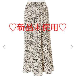 fifth - ♡fifth レオパードプリーツスカート♡
