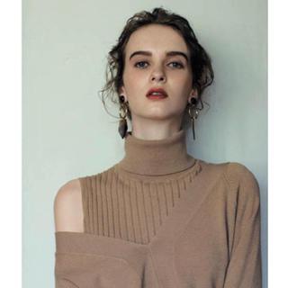 Mila Owen - Mila Owen レイヤードリブニットワンピース