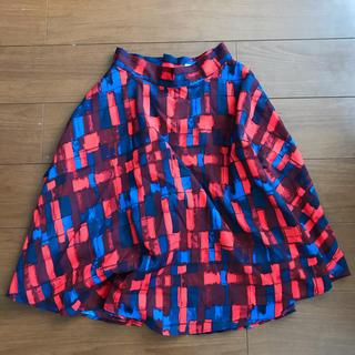 スライ(SLY)の膝丈フレアスカート(ひざ丈スカート)