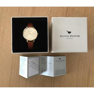 BEAMS - OLIVIA BURTON オリビアバートン  腕時計 ゴールド×ブラウン
