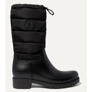 モンクレール(MONCLER)の37 新品 MONCLER  Ginette padded boots ブーツ(ブーツ)