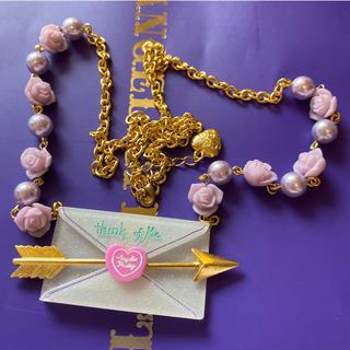 アンジェリックプリティー(Angelic Pretty)のAngelic pretty Romantic Rose Letterネックレス(ネックレス)