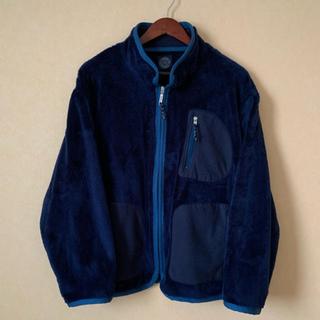 ポーター(PORTER)のporter classic baby fleece jacket navy S(ブルゾン)