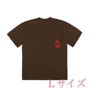 NIKE - 【Lサイズ】Travis Scott JORDAN Tシャツ ブラウン