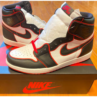ナイキ(NIKE)のNIKE AIR JORDAN 1 HIGH OG Blood line(スニーカー)