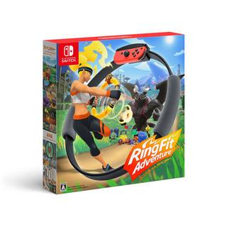 ニンテンドースイッチ(Nintendo Switch)の新品未開封 リングフィットアドベンチャー 任天堂(家庭用ゲームソフト)